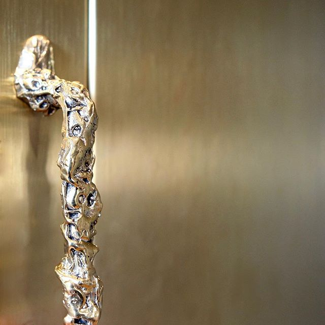 Bones handle, limited edition. #handle #interiordesign #danishdesign #bronze #interior #interiør #design