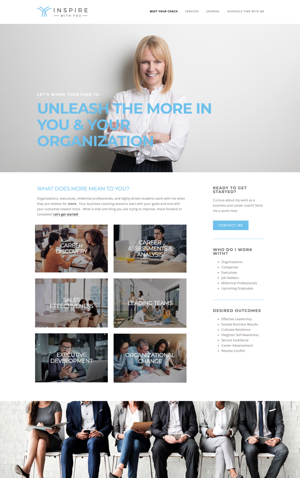 Squarespace Website Design for Entrepreneurs and Small Business