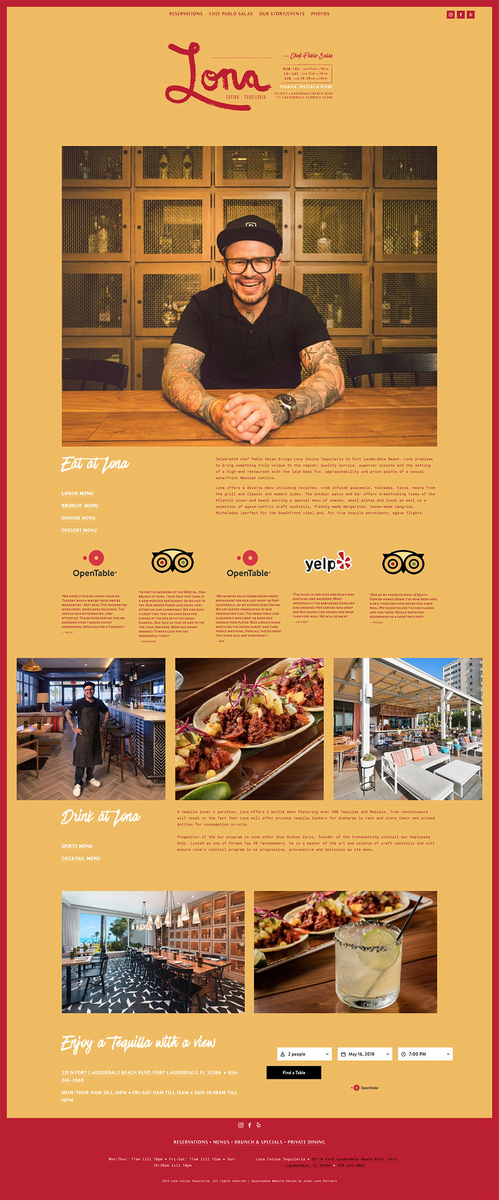 Fast and Affordable Restaurant Website Design and Development in Squarespace or Wordpress