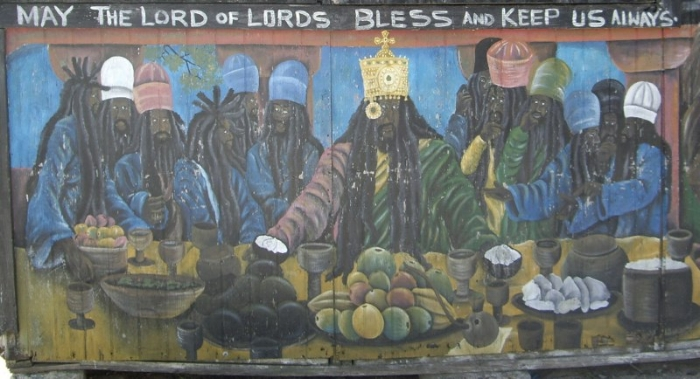 "Title:  ""Last Supper"" Mural (n.d.), Grenada   Photo:  Darren J. N. Middleton"