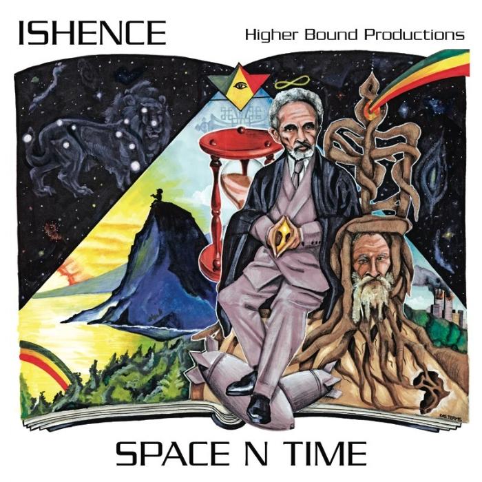 "Album: Space N Time   Artist:  Ishence   Graphic Design: True Love (www.Fikir-studios.com)   Additional Details: http://www.higherboundprod.com/   Credit:  Ryan ""Ishence"" Willard"