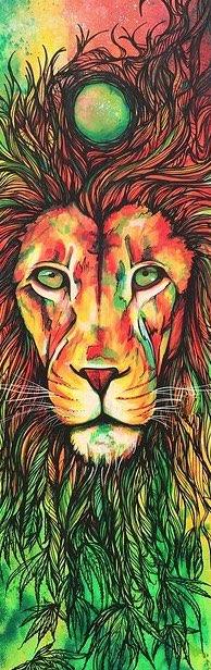 Artist:  Selina Zontos   Title: Jah Rastafari (n.d.)   Source: http://www.skavengeart.com/#!Ratsa-LIon/zoom/c50z/image19za