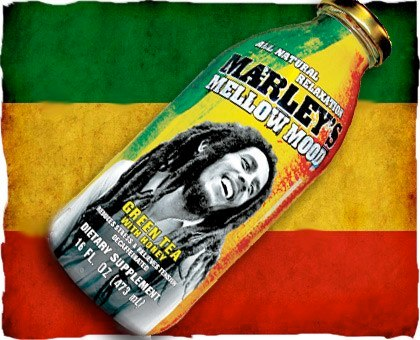 Marley's Mellow Mood   Photo: http://www.possessedbycaffeine.com/2012/07/marleys-mellow-mood-green-tea.html  Accessed Spring 2013
