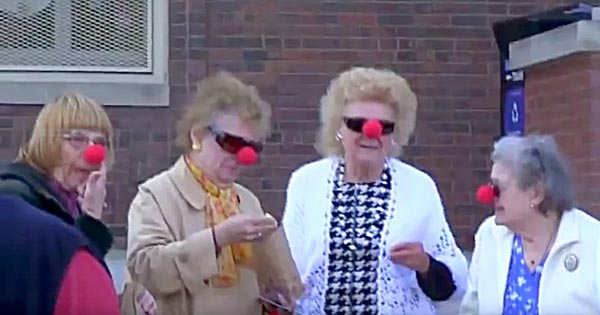 - A favorite memory is seeing the young at heart wearing their noses along side the children running around with their red noses.