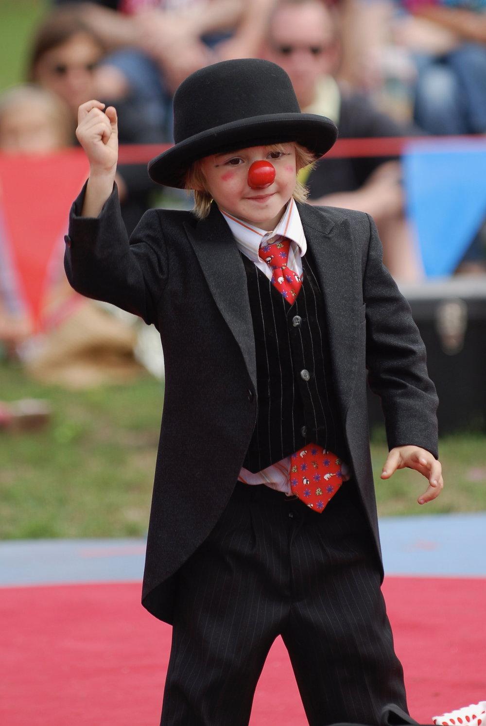 Young Max Jenkins, Maxwell Jenkins, Midnight Circus