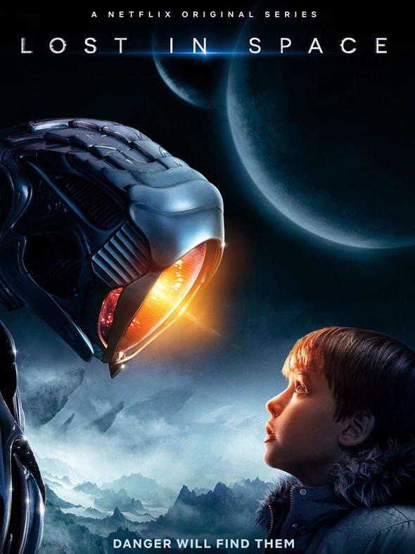 Max Jenkins, Maxwell Jenkins, Lost in Space, Netflix Original, Poster