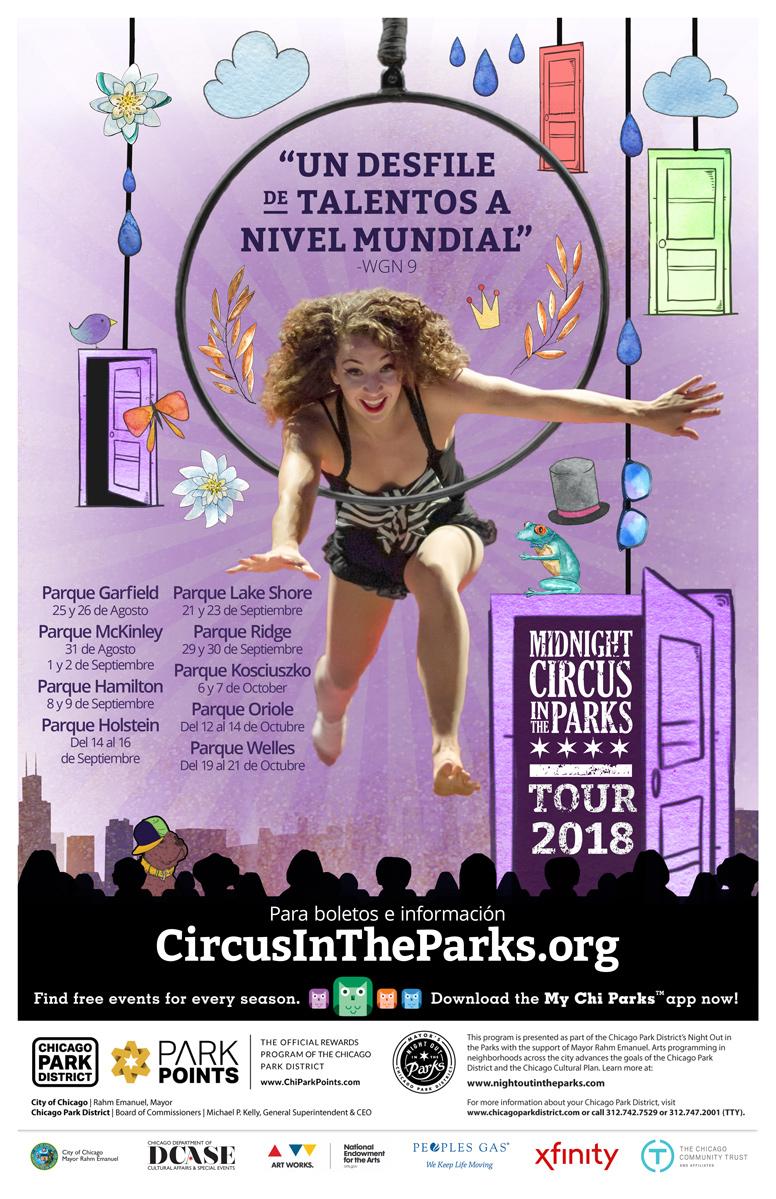 2018 Tour Poster Español