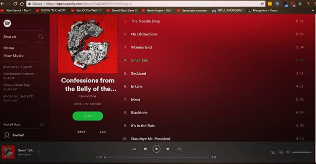 Be sure to #follow us on @spotify 😜 We promise to post only the good stuff 😂 --------------------------- #spotify #streaming #nowinromania #artist #musiciand #band #bucharest #indierock #alternativerock #synth #funky #music #instamusic #followme #like4like