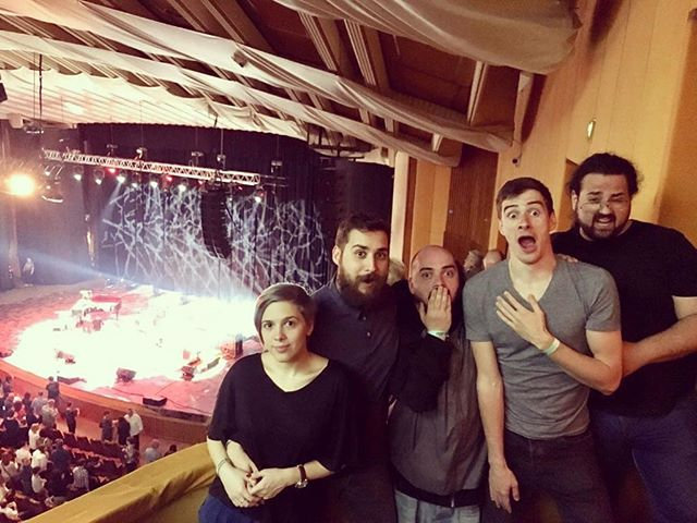 That was our reaction after @gregoryportermusic live show. We left that building blessed by his beautiful soul and music #Gramofone #GregoryPorter #show #live #love #thrill #soul #jazz #Bucharest #Romania #SalaPalatului #music #band