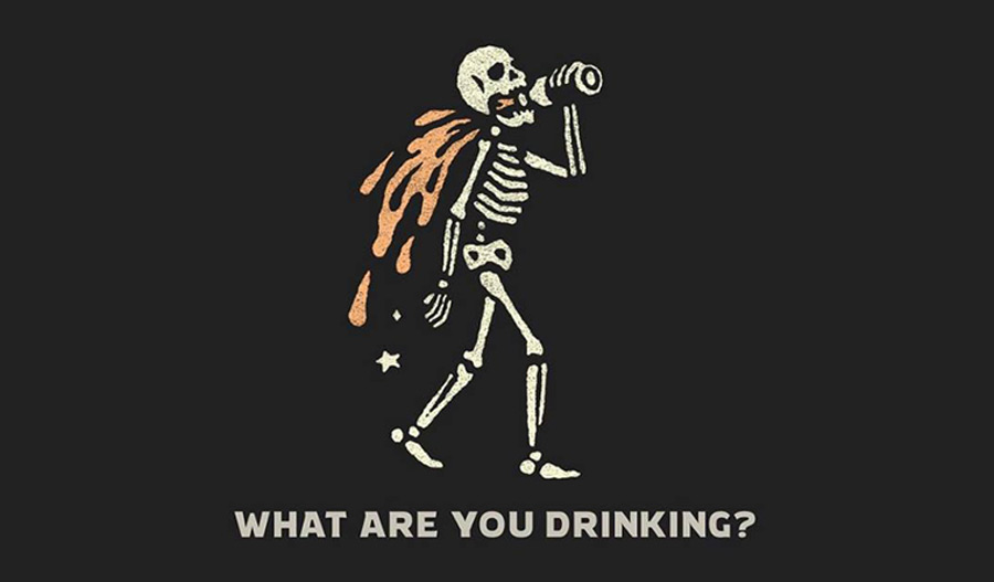 'What Are You Drinking' graphic provided by  Joshua Luke Smith