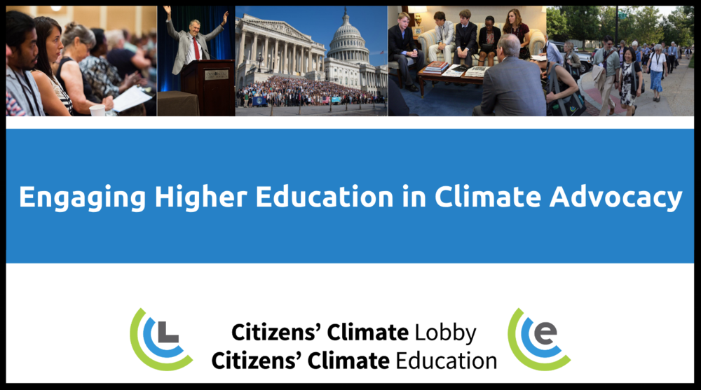 This presentation is for those already familiar with CCL interested in learning how to get involved in higher ed outreach.