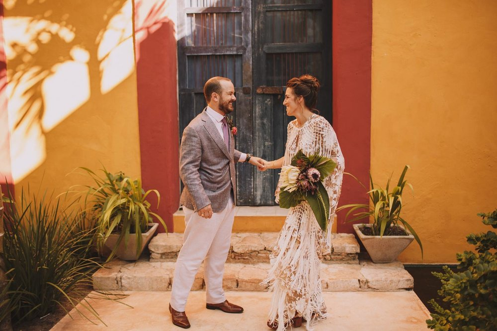 Brooke & Nico - Destination wedding in Mérida, Mexico