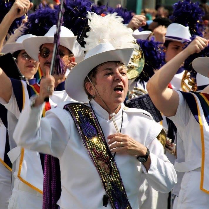 Marita Begley<br>LGBTQ+ marching band director<br><br>Glen Ridge, NJ