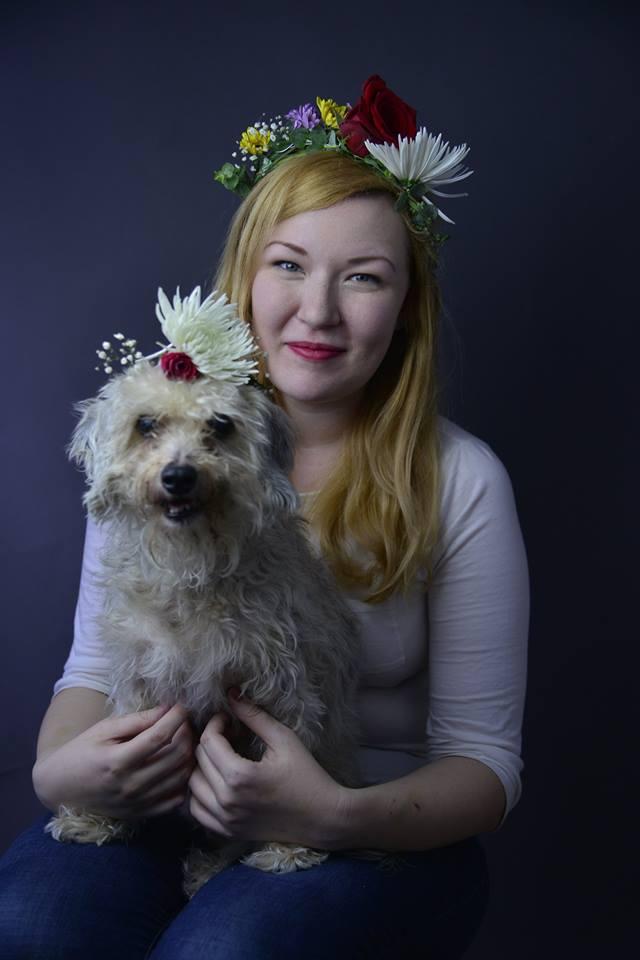 Maggie Larkin<br>Wardrobe, aspiring playwright/director<br><br>NYC