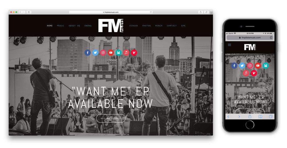 Web Design FM Pilots