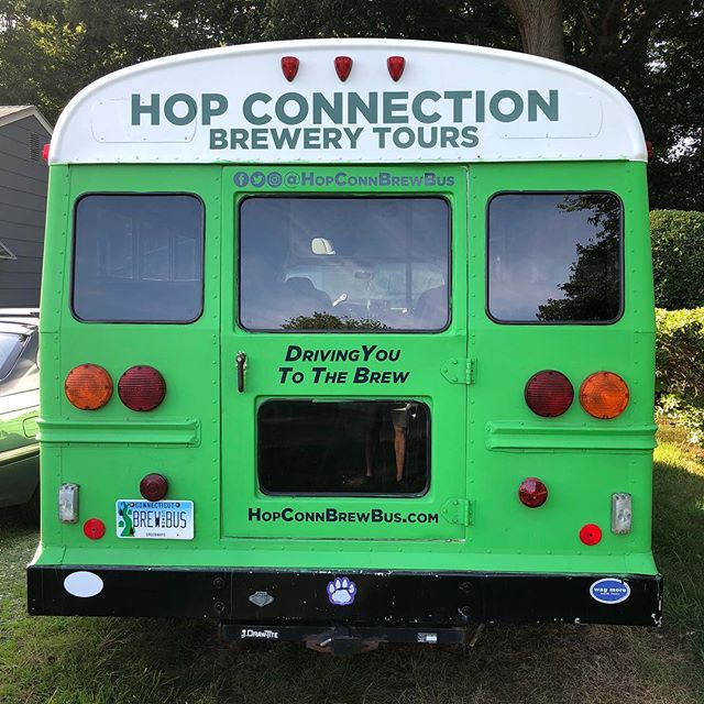 See the bus on the road? Take a picture, post it, and tag us! You'll get 10% off a tour!  #HopConn #ctbeertrail #drinklocal