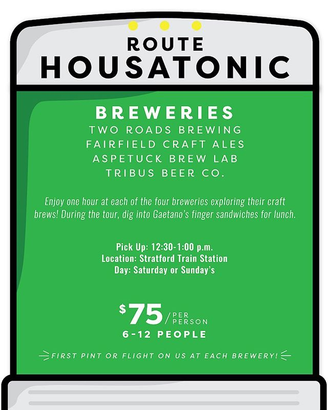 Saturday, October 20th!! Join us on our first public tour on our Housatonic route; Perfect for singles, couples, and third wheels, or anyone who can't get 11 people together. Drink some beer and make some friends! #hopconn #ctbeertrail #ctbeer