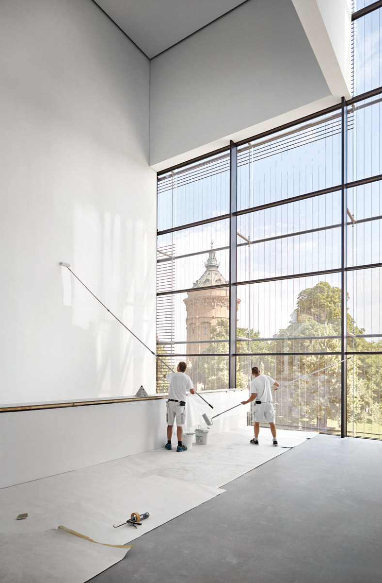 Skulpturenterrasse, Ebene 1  2017–07–14
