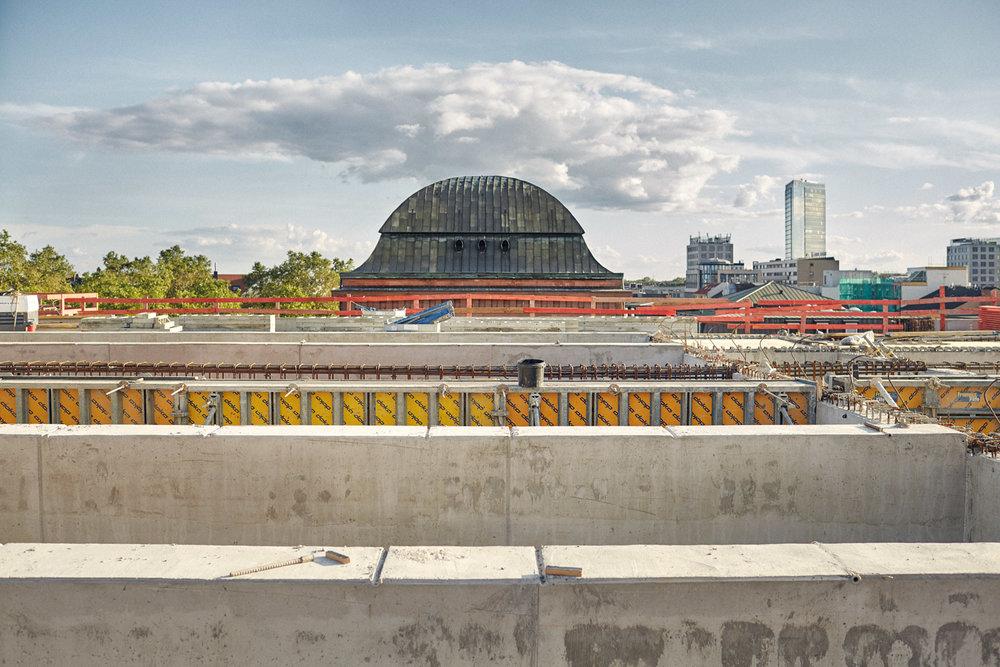 Dach über dem Atrium  2016–05–19