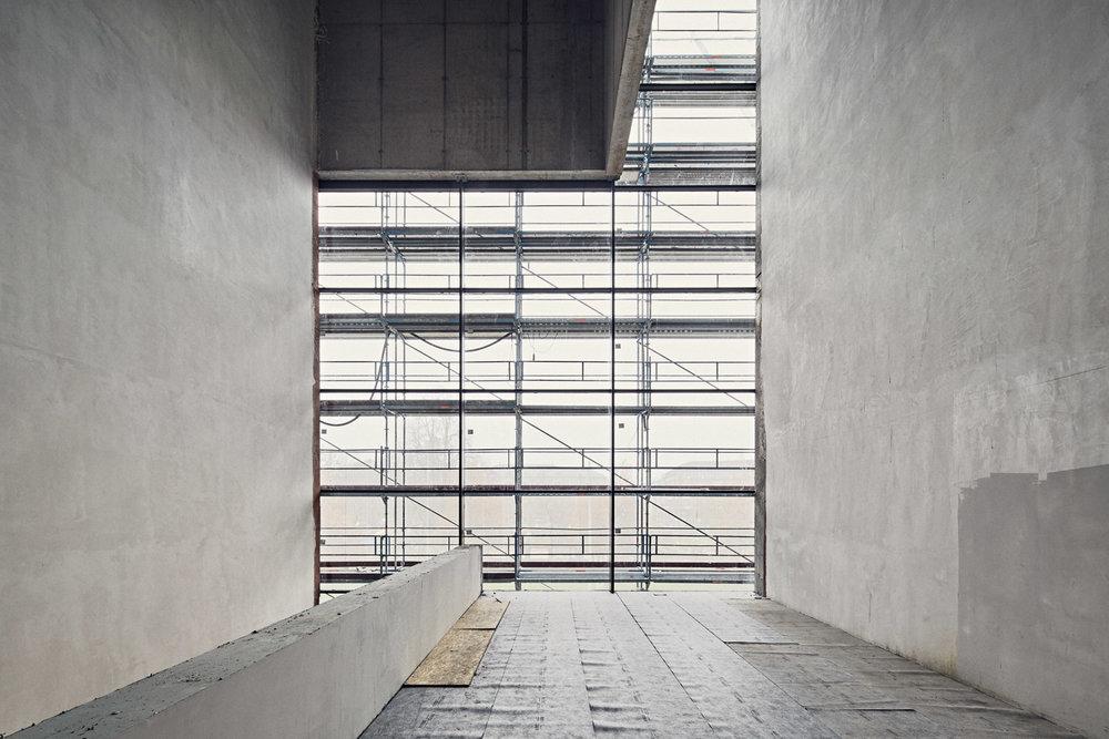 Skulpturenterrasse, Ebene 1  2016–12–13