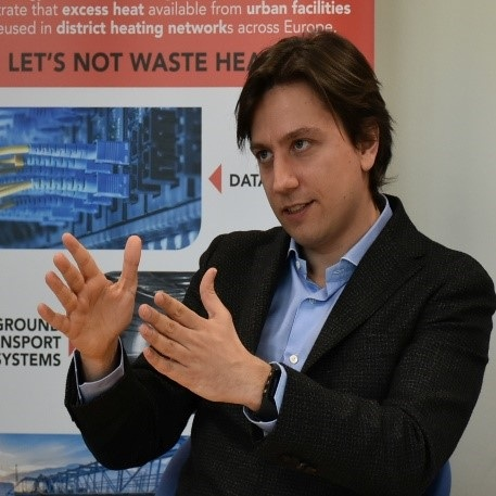 Mr. Alessandro Provaggi   Head of the DHC+ Technology Platform at Euroheat & Power