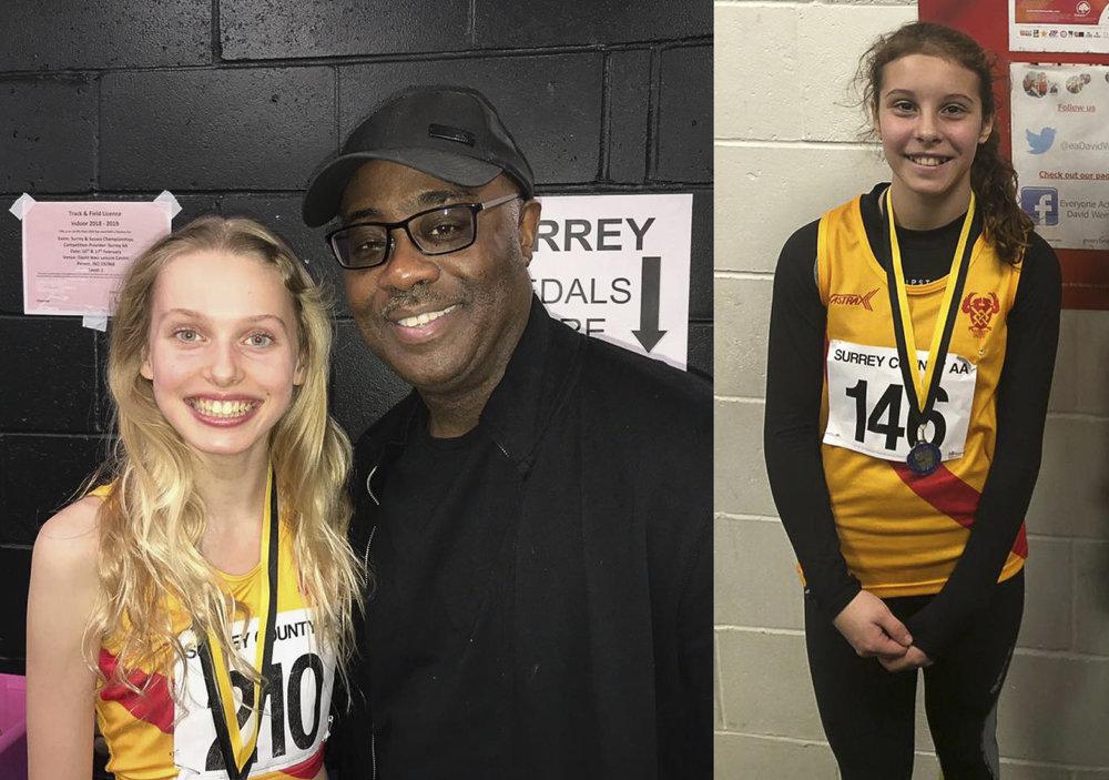 Surrey Indoor medallists girls.jpg