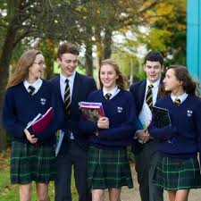 Students at typical Irish Boarding School