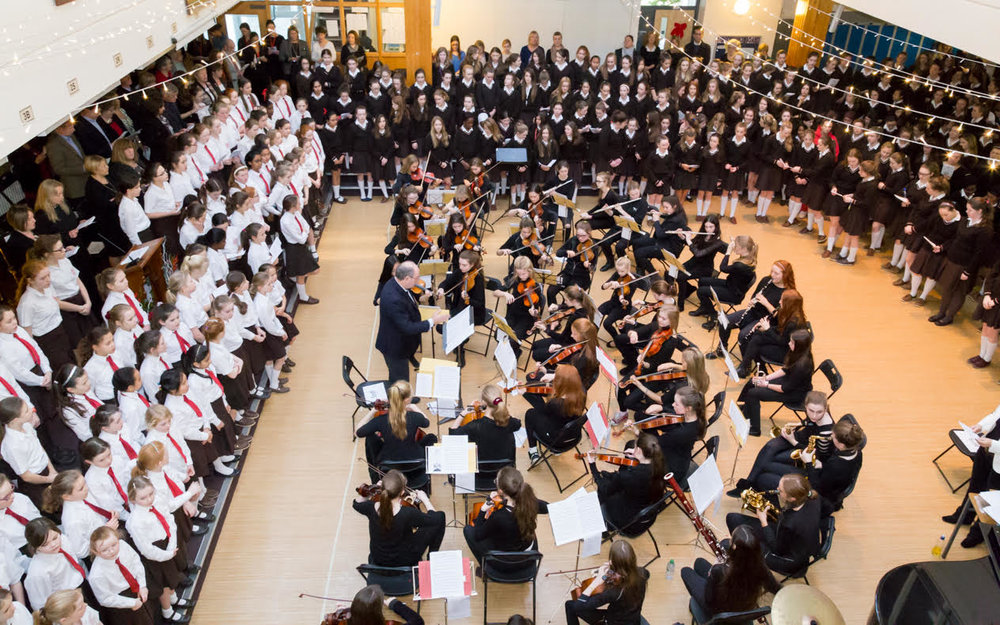 Alexandra College School Choir and Orchestra