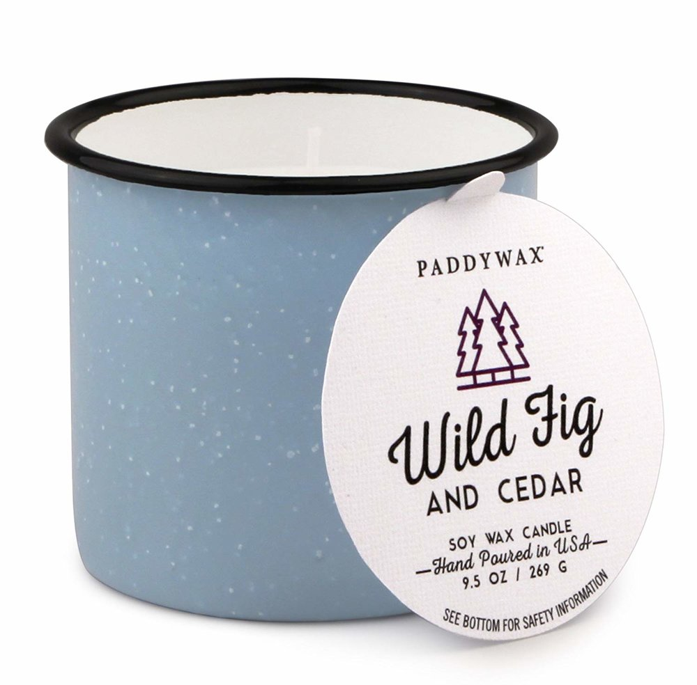 PADDYWAX ALPINE COLLECTION CANDLE | WILD FIG & CEDAR