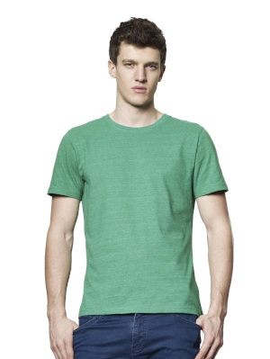 SA01 Mens Classic Fit T-shirt  60% Recycled pre-consumer cotton organically grown, 40% Recycled post-consumer polyester jersey. 165g  More details >