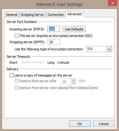 Lingo Networks email setup guide for Outlook 2010 - 2013.