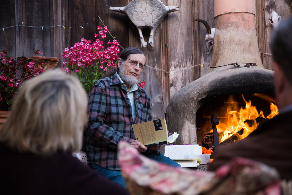Poetry Readings by the Fire