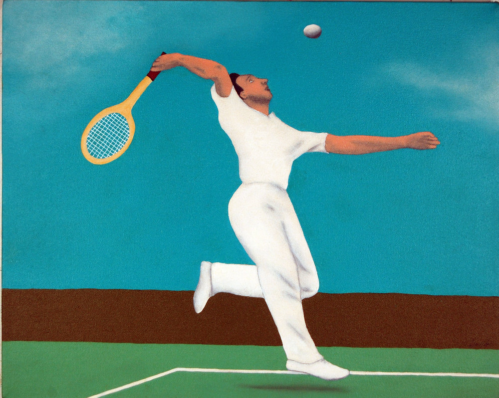 Tennis Jump ( Fred Perry)