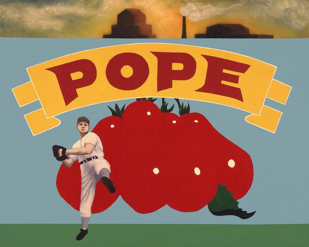 Pope sun-ripened tomatoes