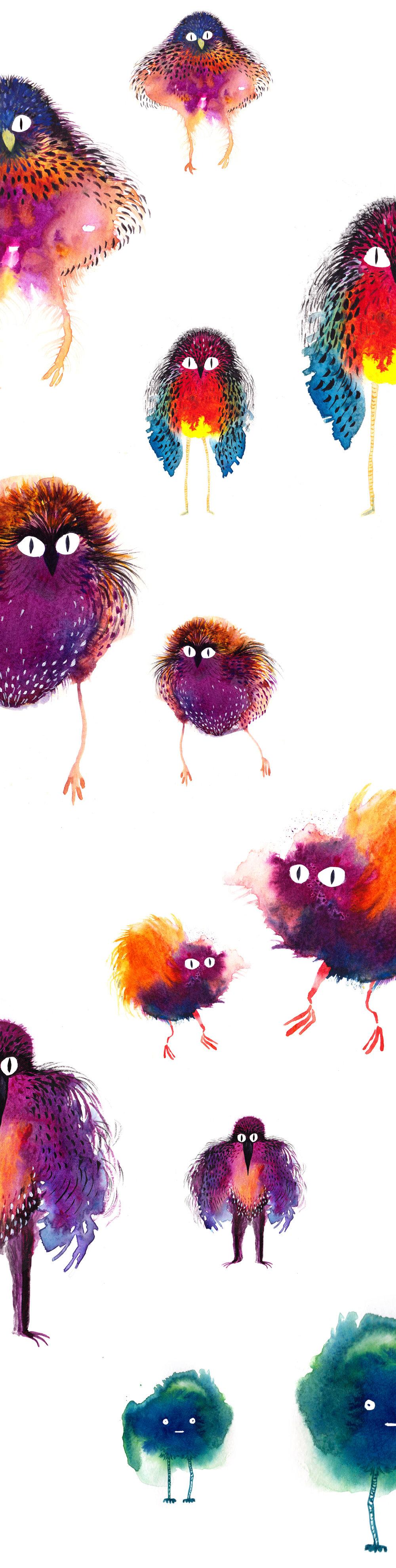 Laetitia_Eaton_watercolor_birds