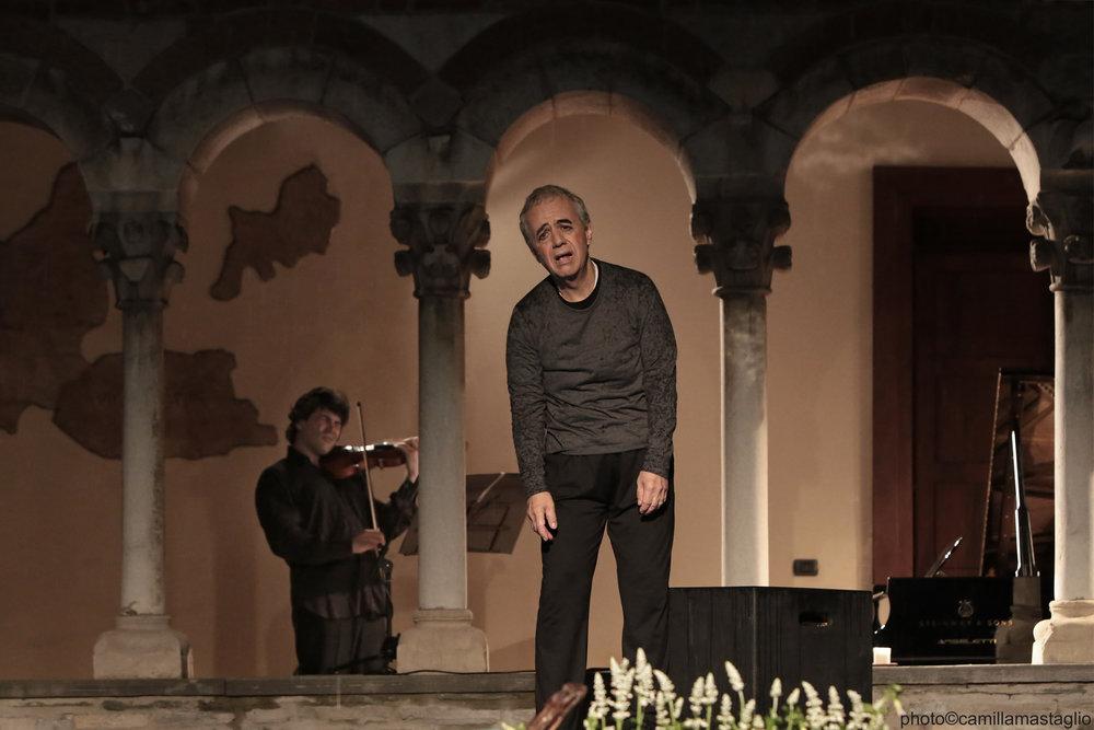 Béla Bartók Sonata for Solo Violin / Apocalypse Man    Festival Musica sull'Acqua, 2015