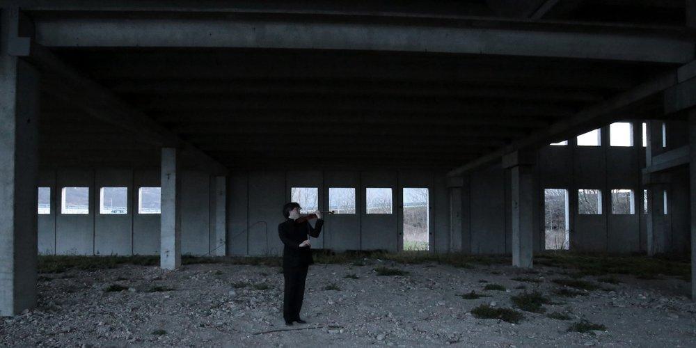 Sonata for Solo Violin : Apocalypse Man : BÉLA BARTÓK : Tony Lopresti : Francesco Senese 19.jpg
