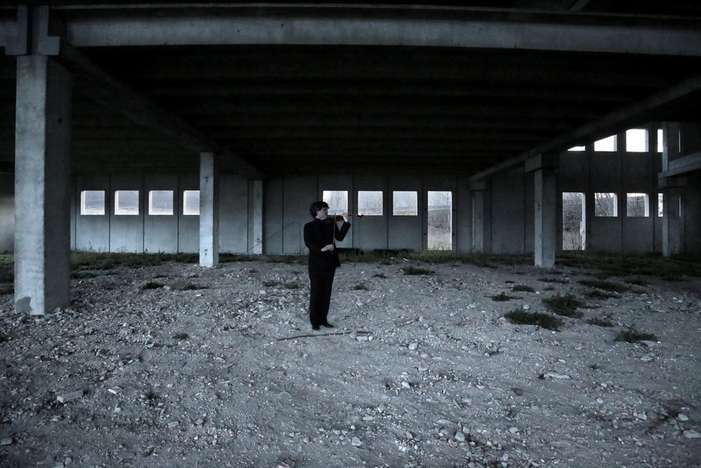 Sonata for Solo Violin : Apocalypse Man : BÉLA BARTÓK : Tony Lopresti : Francesco Senese 20.jpg