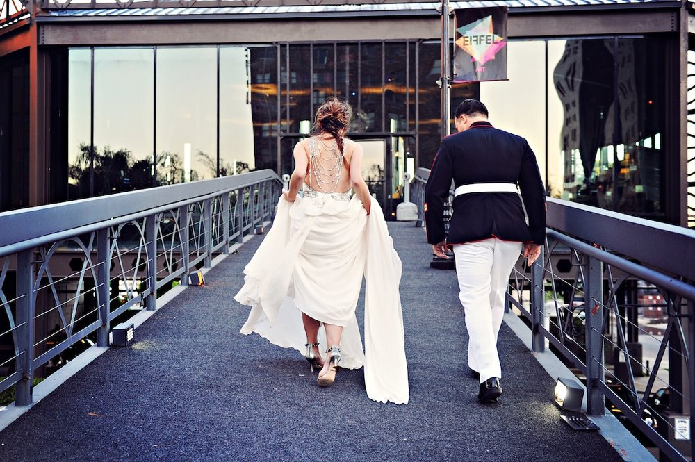 New Orleans Military Wedding
