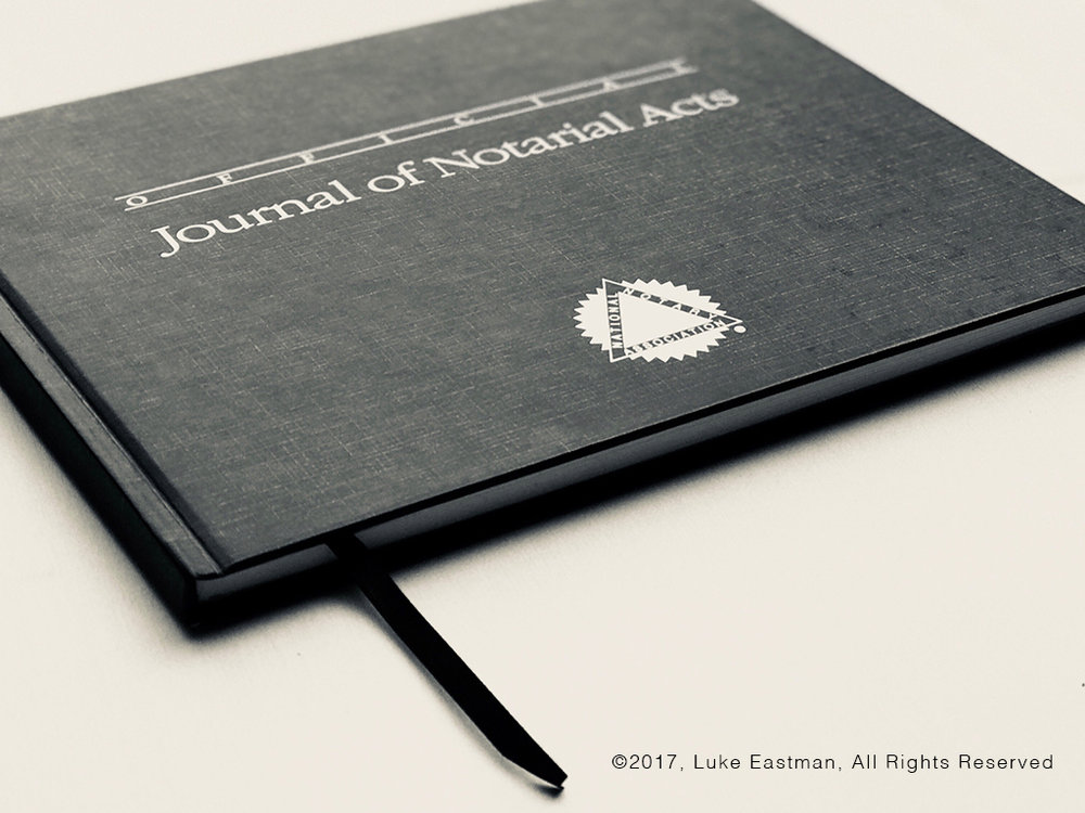 San Diego Notary Journal Entry