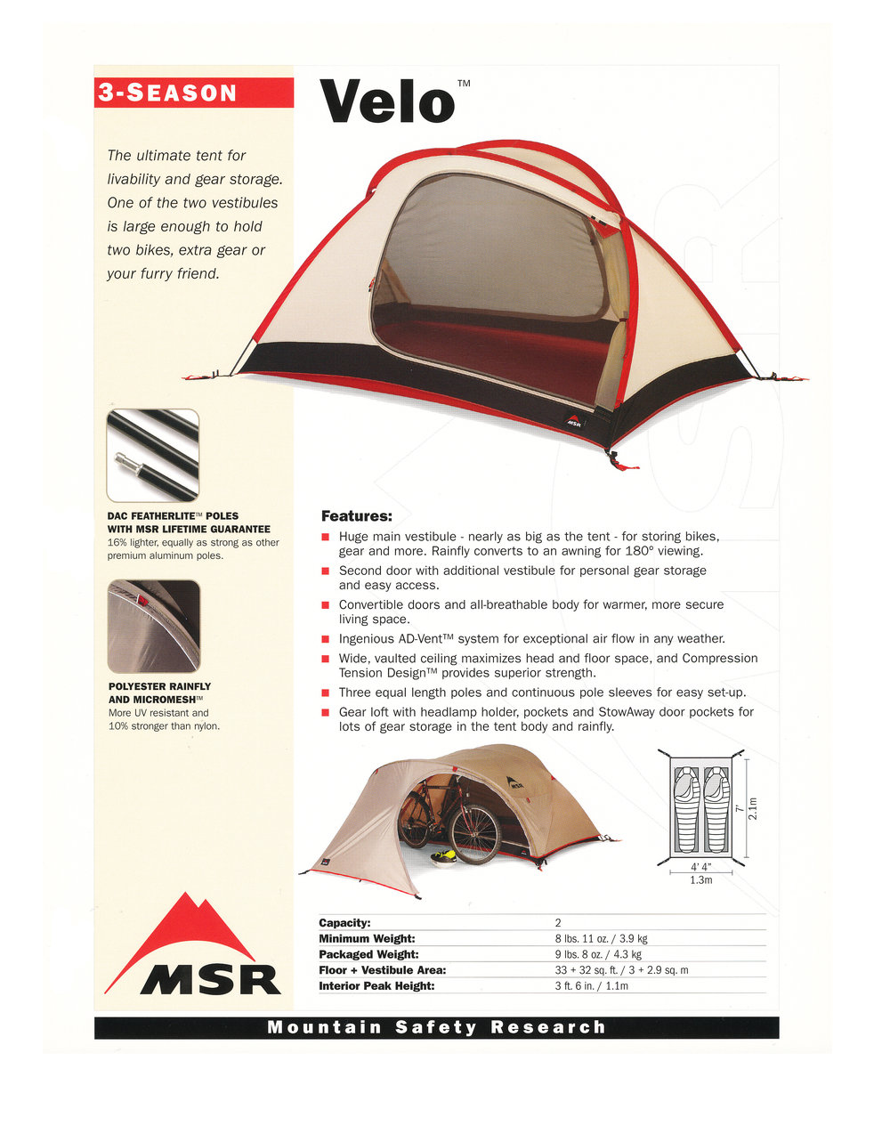MSR Tents Velo .jpg.  sc 1 st  jim giblin & MSR Velo Tent u2014 JIM GIBLIN