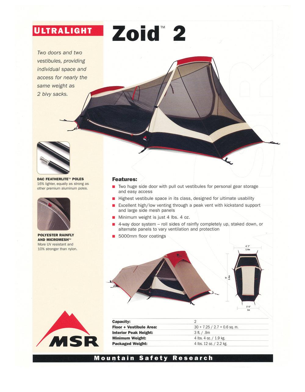MSR Tents zoid 2.2.jpg  sc 1 st  jim giblin & MSR Zoid 2 u2014 JIM GIBLIN