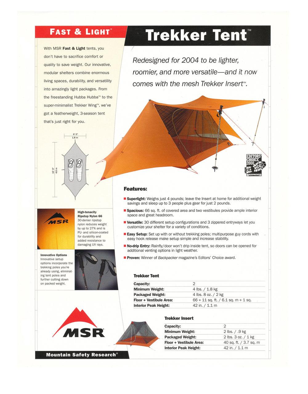 MSR Tents Fu0026L Trekker Tarp.jpg  sc 1 st  jim giblin & 2004 MSR TENTS u2014 JIM GIBLIN