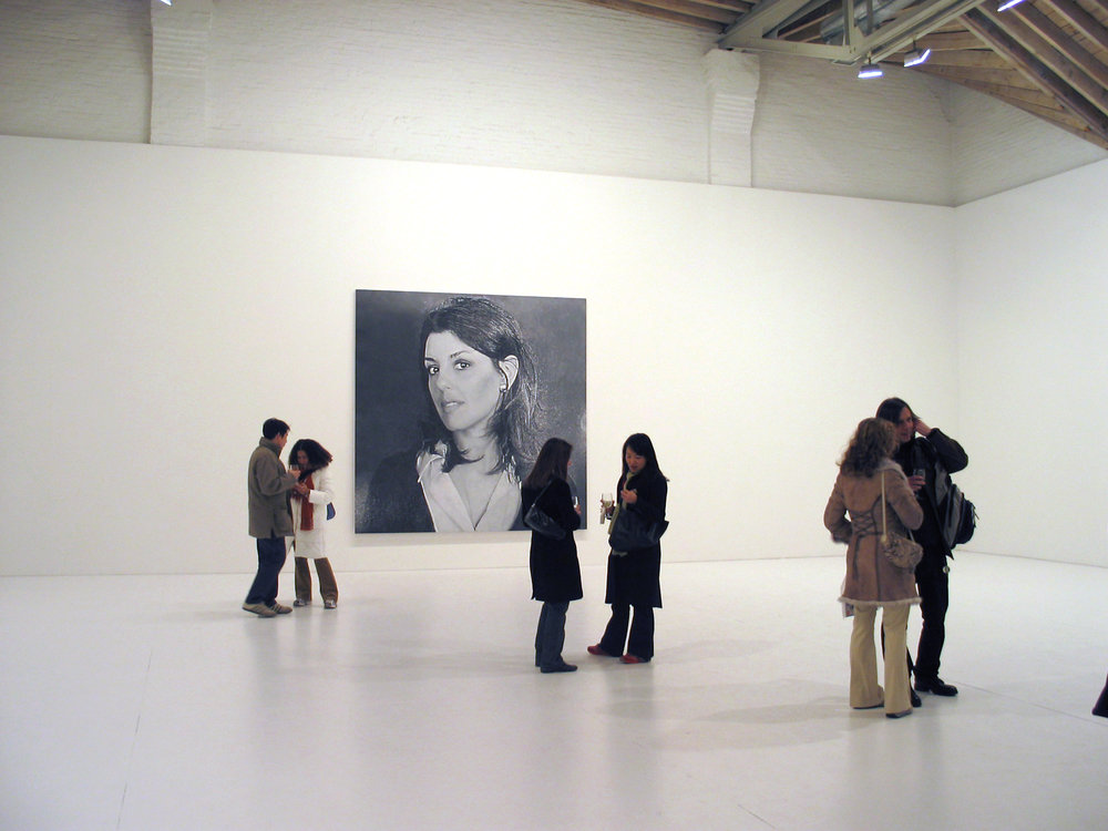 "Installation view, ""Rudolf Stingel,"" Paula Cooper Gallery, NY (February 12 – March 12, 2005)."