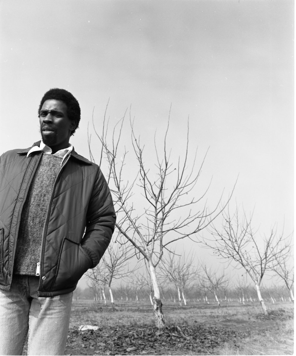 Charles Gaines, circa 1970s. Courtesy the artist.