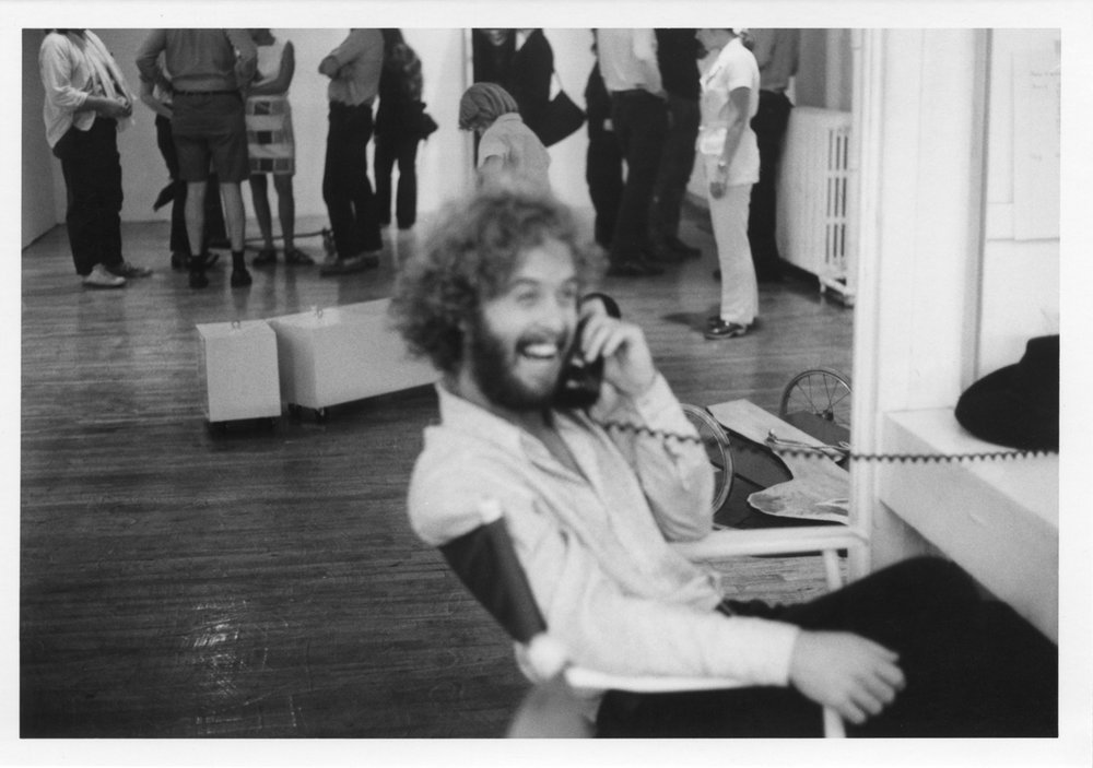 Selections of Paula Cooper Gallery staff over the years — Paula's first employee, Bob Stearns, c. 1970s