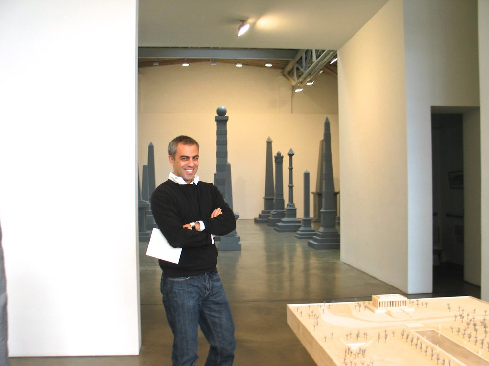 Selections of Paula Cooper Gallery staff over the years — Anthony Allen, 2005 (photo by Katharina Faerber)