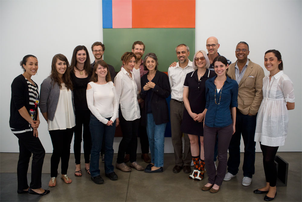 Selections of Paula Cooper Gallery staff over the years — PCG staff, 2010