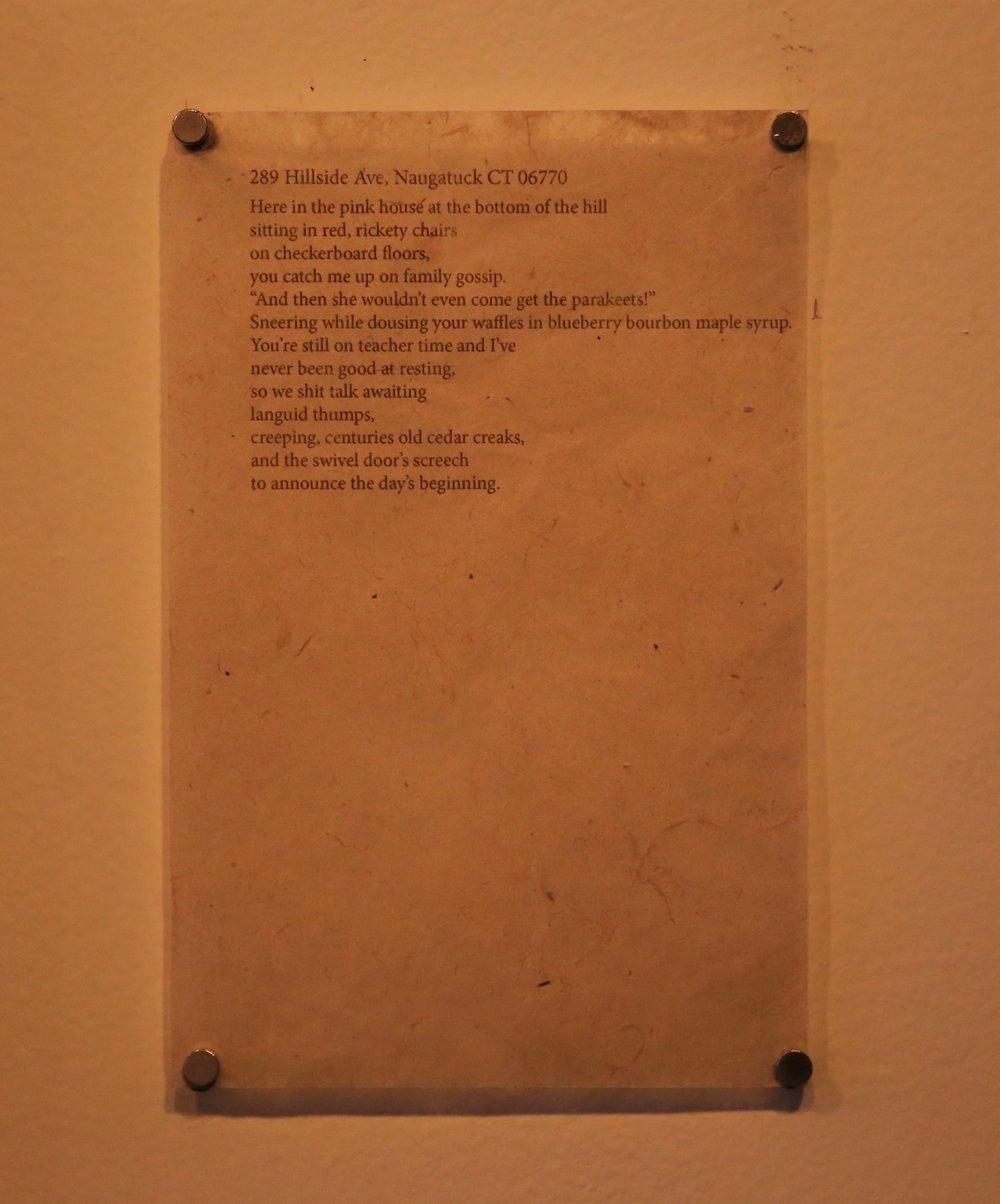 Sample poem.
