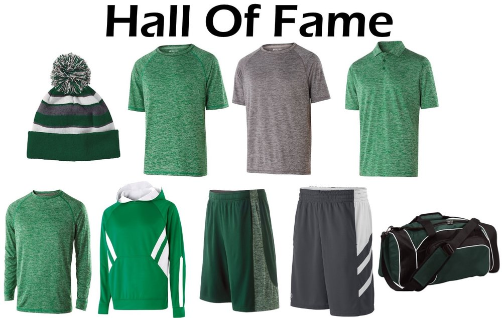 Hall Of Fame Package - $230.00 - 1- Comeback Beanie2- Electron 2.0 T-Shirts1- Electron 2.0 Polo Shirt1- Electron 2.0 Long Sleeve T-Shirt1- Argon Hoodie1- Electron Dry Excel Shorts1- Helium Micro Mesh Shorts1- League Duffle Bag